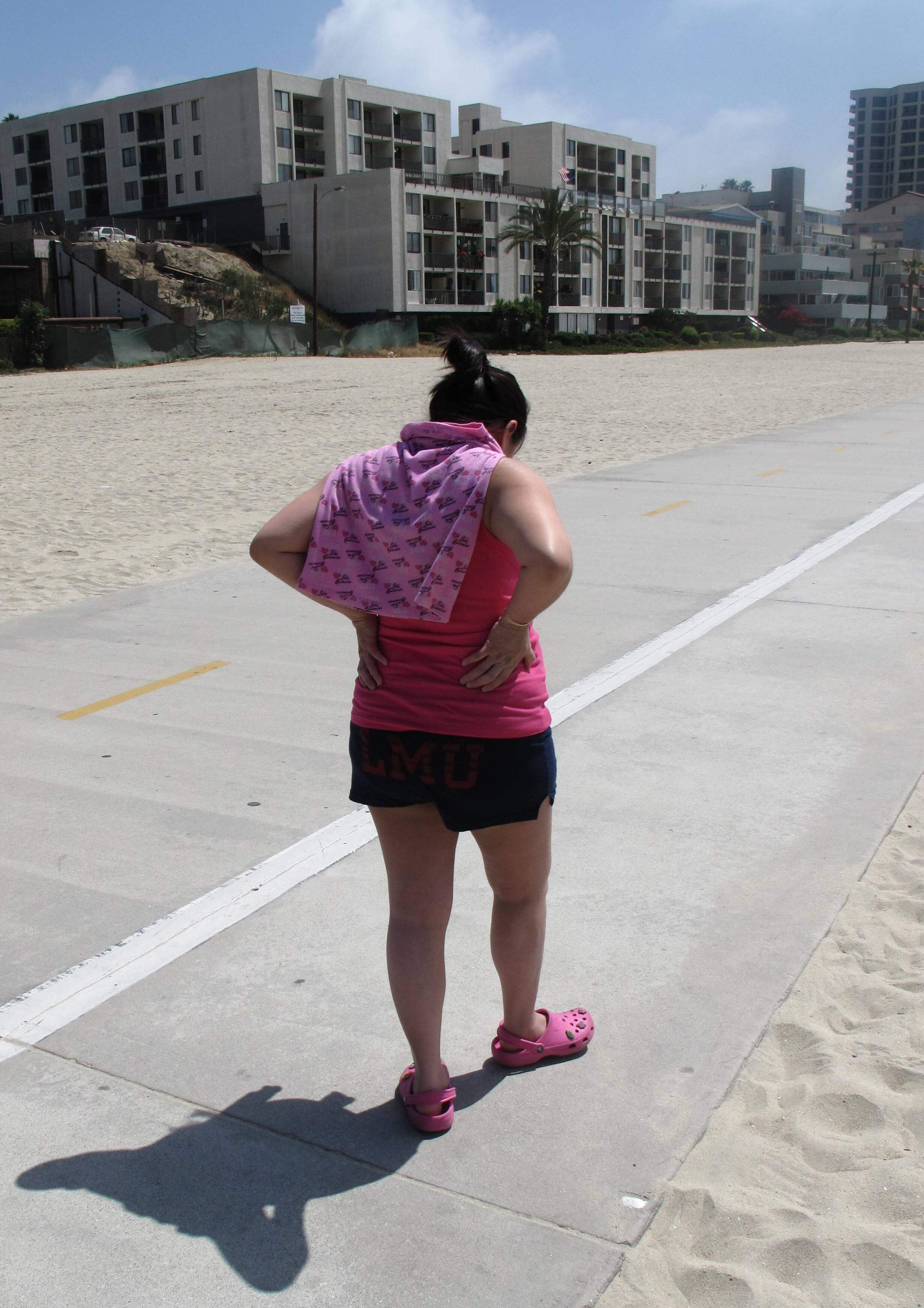 Jessica Nuyen walking cropped