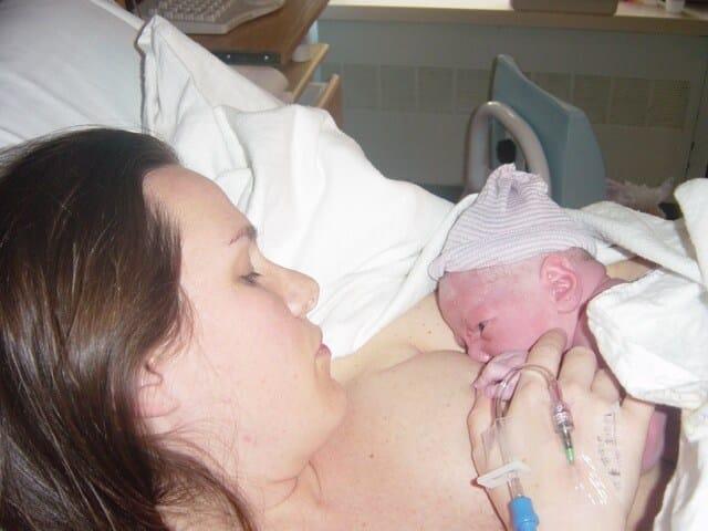 Lesley Levine baby on nursing copy
