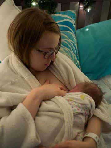 Sigrid breastfeeding