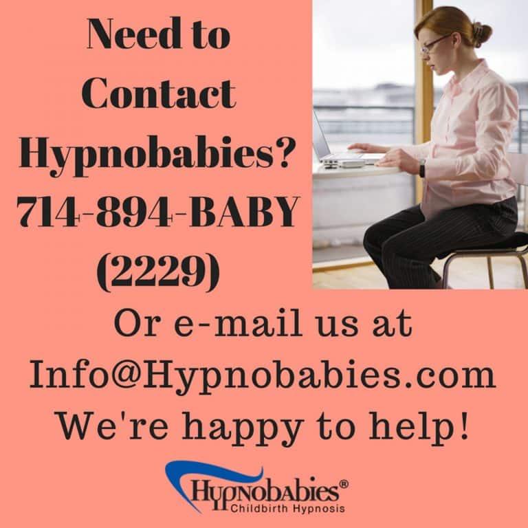 Contact Hypnobabies