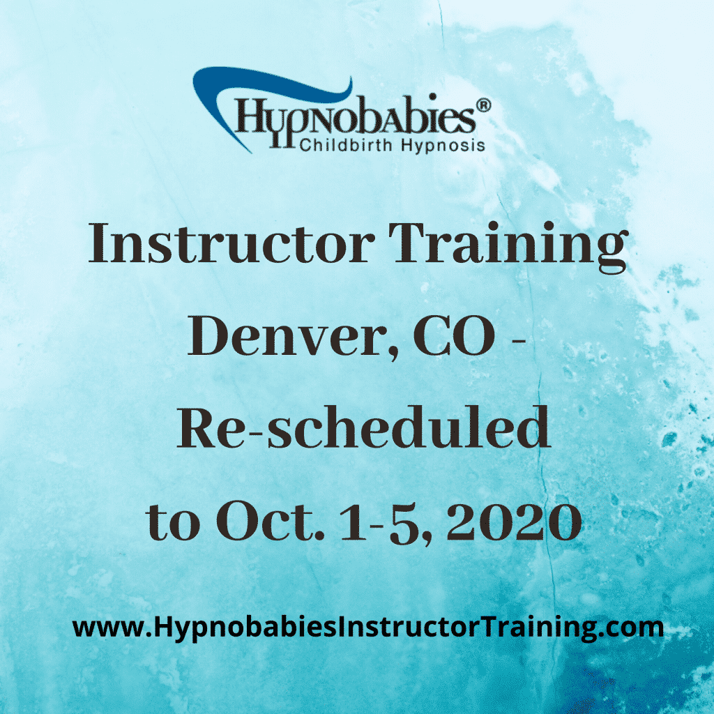 2020 Hypnobabies Instructor Training