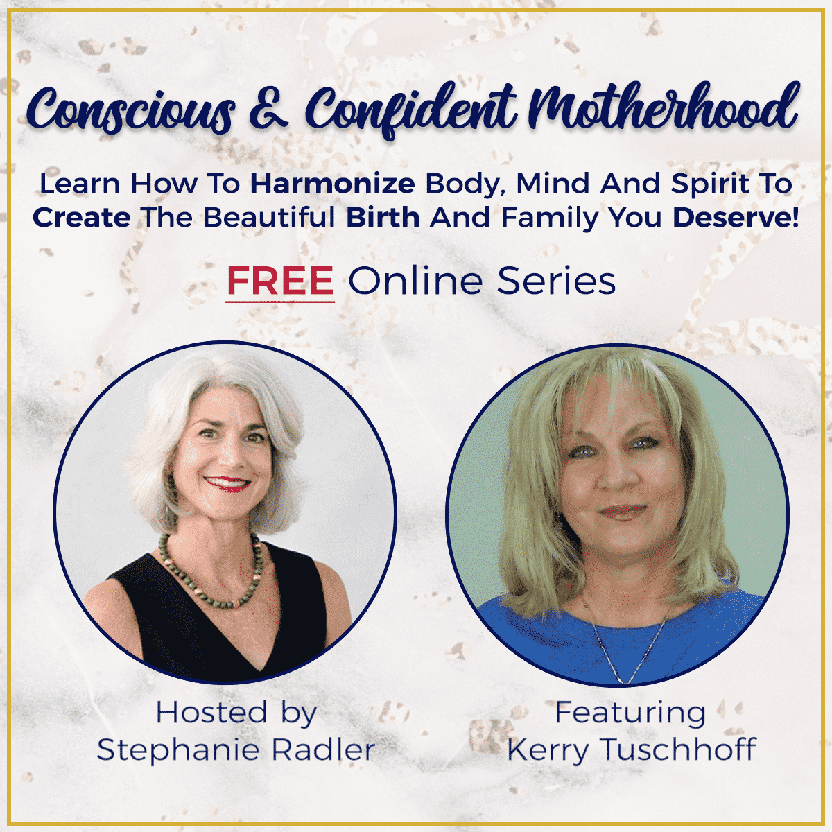 Kerry Tuschhoff on podcast - Conscious and confident Motherhood