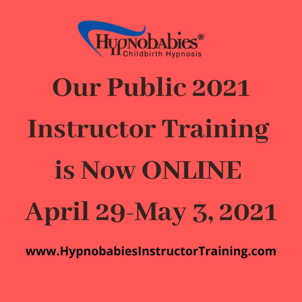 2021 Hypnobabies Instructor Training
