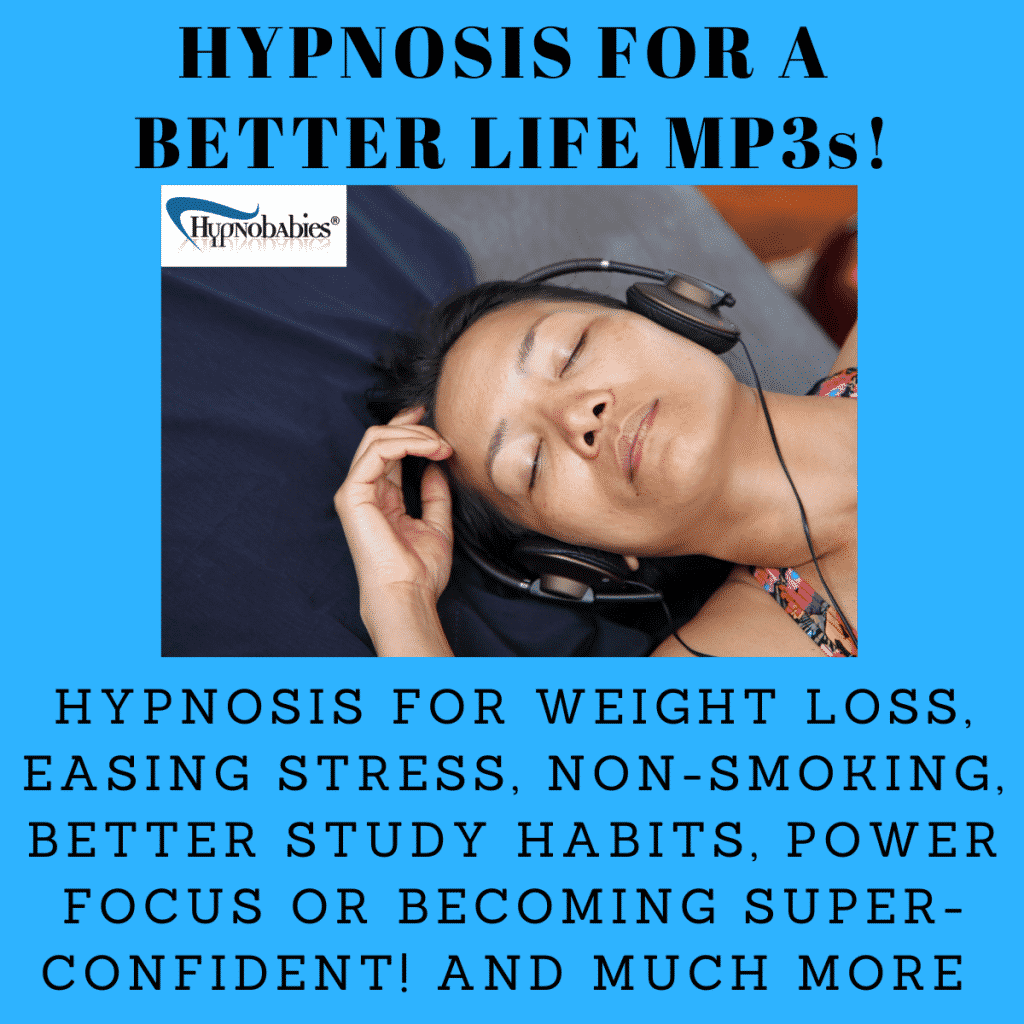 Hypnosis tracks for stress, smoking, weight loss and more